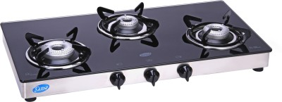 Glen GL-1033 GT XL 3 Burner Gas Cooktop