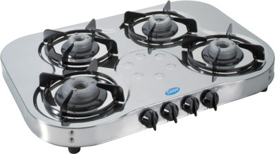 Glen GL-1045 HF Gas Cooktop (4 Burner)