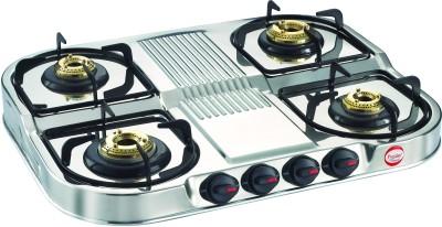Prestige DGS 04 SS 4 Burner Gas Cooktop