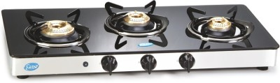 GLEN GL 1033 GT BB AI Glass Automatic Gas Stove(3 Burners)