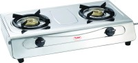 Prestige Agni Deluxe Stainless Steel Manual Gas Stove(2 Burners)