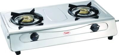 Prestige Agni Deluxe SS 2 Burner Gas Cooktop