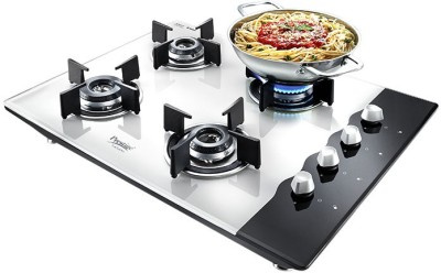 Prestige Hobtop LP Gas Table Glass Manual Gas Stove(4 Burners)