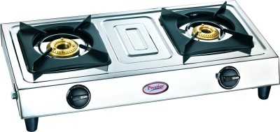 Prestige Star SS Gas Cooktop (2 Burner)