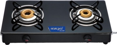 Surya Accent Glass Manual Gas Stove