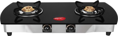 Pigeon Blackline Oval SS Gas Cooktop (2 Burner)