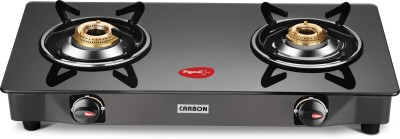 Pigeon Carbon Stainless Steel Manual Gas Stove(2 Burners)