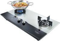 Prestige Hobtop Glass Manual Gas Stove(2 Burners)