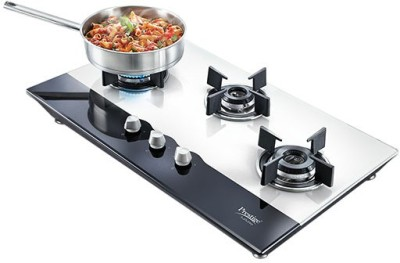 Prestige Hobtop PHT03 Manual Gas Cooktop (3 Burner)