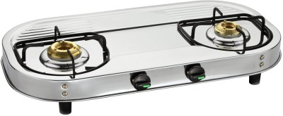 Butterfly Stainless Steel Manual Gas Stove(2 Burners)