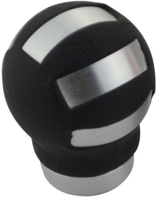 ACCESSOREEZ Aluminium Gear Knob For(Silver, Black)