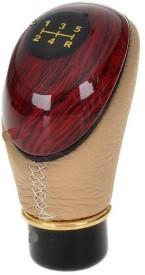 Type R 25 Leatherite Wooden Finished Tarapaulin Gear Knob