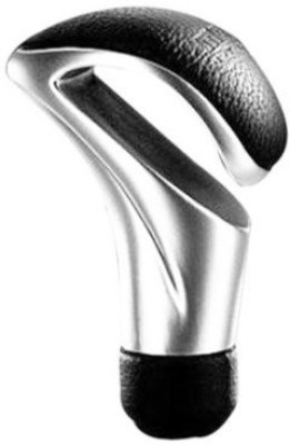 3LoQ Leather Gear Knob For(Silver)