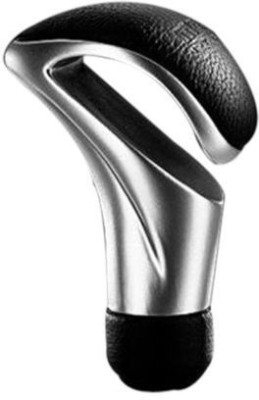 Vetra Stainless Steel, Leather Gear Knob For Universal Universal