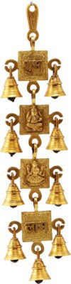 Gathbandhan Brass Decorative Bell(Pack of 1)