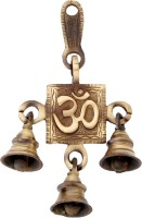 Handecor Om Brass Decorative Bell(Brown, Pack of 1)
