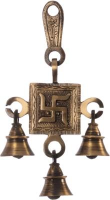 eCraftIndia Swastik Hanging Brass Pooja ...