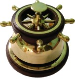 Royal Brass, Wooden Desk Bell (Pack of 1...