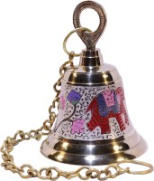 Frestol Brass Pooja Bell(Gold, Pack of 1)