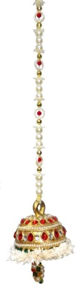 Aradhana Arts Ball Design (Medium) (Pack of 1 ) Microfibre Decorative Bell