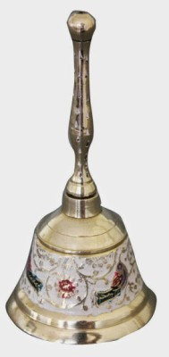 Dekor World DWDT-067 Brass Pooja Bell(Multicolor, Pack of 1)
