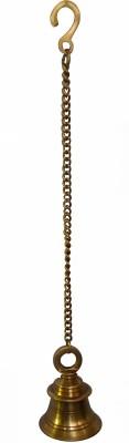 Radhika's World of Crafts Hanging Brass Decorative Bell