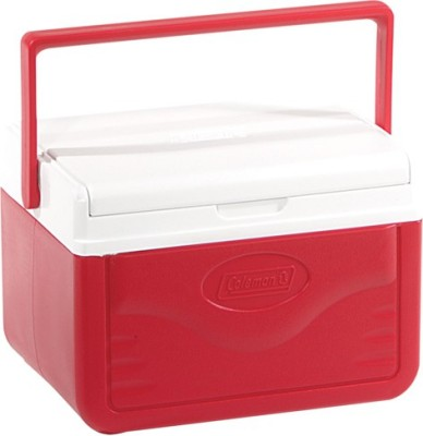 Coleman COOLER 5QT 5205A753G Cooler(Red, 4.7 L)