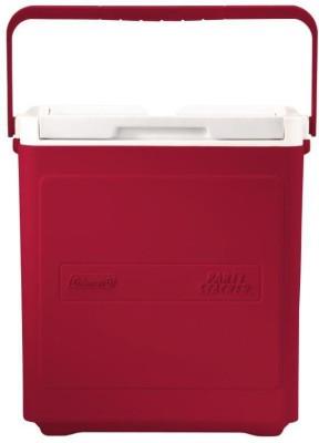 Coleman Party Stacker Cooler, 17-Liter (Red) Cooler