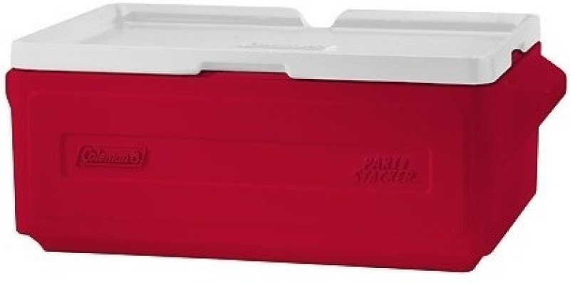 Coleman Party Stacker 24 Can Cooler(Red)