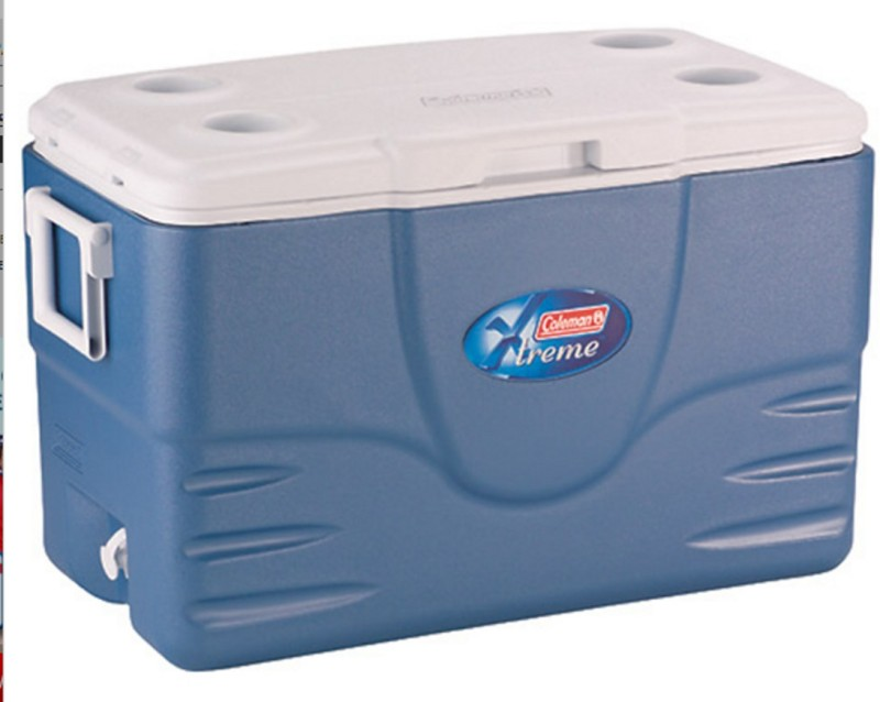 Coleman 52 Quart Xtreme 5 Cooler - Ice Box - Chill Box(Blue)