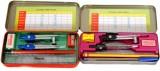 Aahum Soccer Metal Geometry Boxes (Red &...