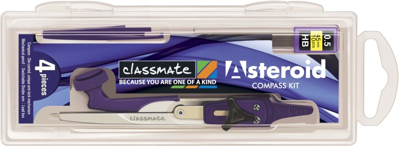 Classmate Compass Kit Geometry Box(Purple)