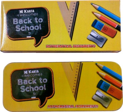 Karta Back2 school Combo Metal Geometry Boxes