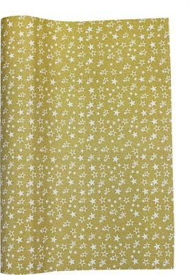 Paper Exim FSP Five-Pointed Star Pattern Pp/Pvc Gift Wrapper