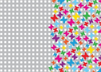 Sixteen Shades WRAPPING butterfly paper Gift Wrapper(Multicolor)
