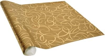 STAR Golden Metallic Criss-Cross Pattern Italian Paper Gift Wrapper