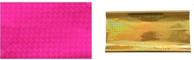 Felicity Pack Of Pink&Gold 40 Glossy Plastic Gift Wrapper