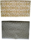 Hargan Gift Wrap Gold,Silver Fresh Touch...