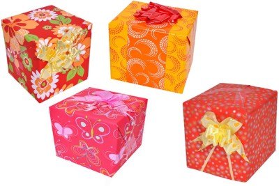 Star Multicolor Combo Floral & Dots Italian Paper Gift Wrapper