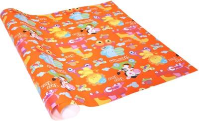 Star Orange Kids Cartoon Italian Paper Gift Wrapper
