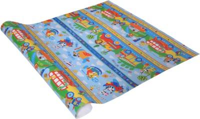 Star Sky Blue Kids Cartoon Italian Paper Gift Wrapper
