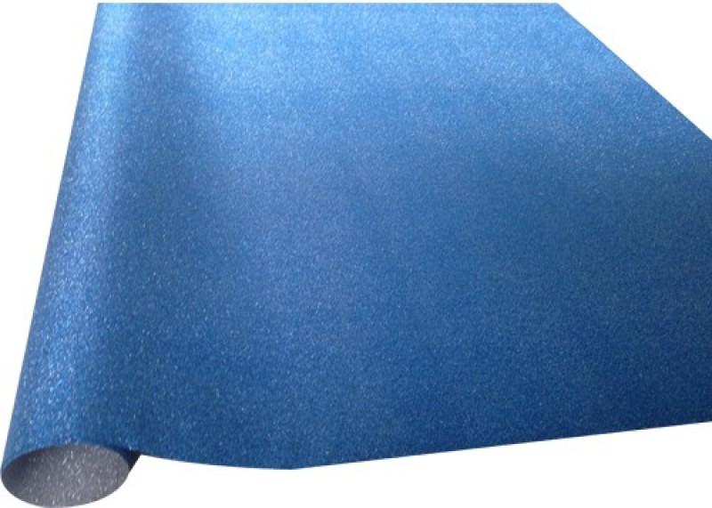 Paper Exim GP Glitter Pattern Pp/Pvc Gift Wrapper(Blue)