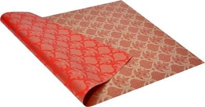 Star Red ,n, Golden Festival Spirit Pattern Italian Paper Gift Wrapper