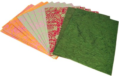 R S Jewels Handmade Recycle Sheets Assorted Color Paper Gift Wrapper