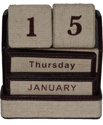 Clubb TABLE CALENDER Natural Jute Gift Wrapper