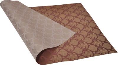 Star Gold ,n, Brown Festival Spirit Pattern Reversible Italian Paper Gift Wrapper
