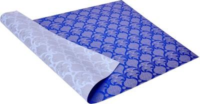 Star Silver ,n, Blue Festival Spirit Pattern Italian Paper Gift Wrapper