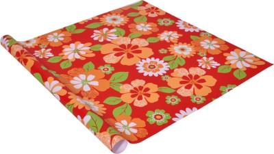 Star Multicolor Floral Design Italian Paper Gift Wrapper