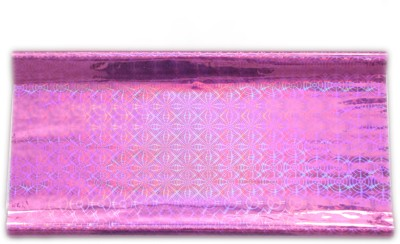 Gathbandhan 3d Queen Holographic Plastic Gift Wrapper(Pink)