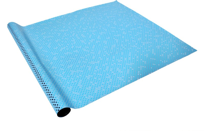 Star Blue Polka Dots Italian PP Sheets Gift Wrapper(Blue)